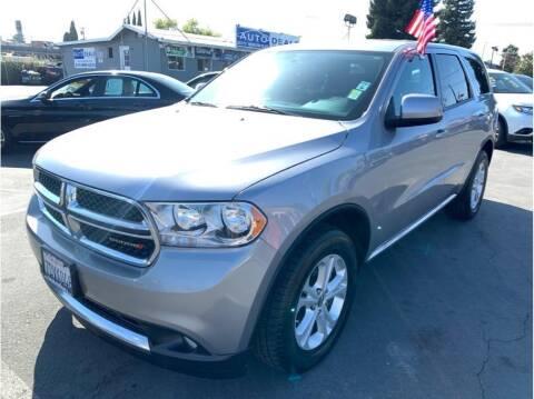 2013 Dodge Durango for sale at AutoDeals in Hayward CA