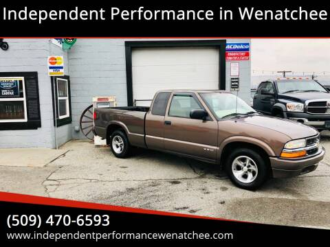 1999 Chevrolet S-10 for sale at Independent Performance Sales & Service in Wenatchee WA