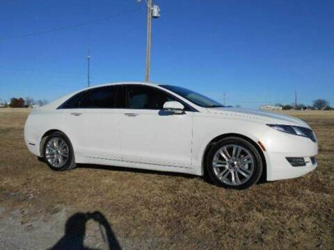 2013 Lincoln MKZ Hybrid for sale at CAVENDER MOTORS in Van Alstyne TX