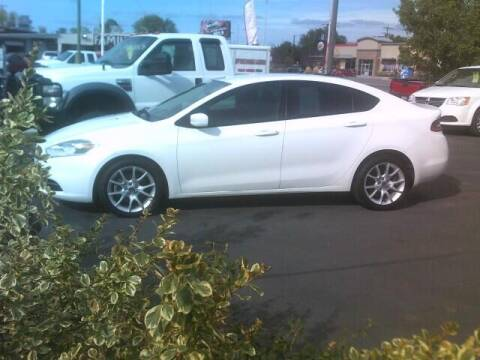 2013 Dodge Dart for sale at University Auto Sales Inc in Pocatello ID