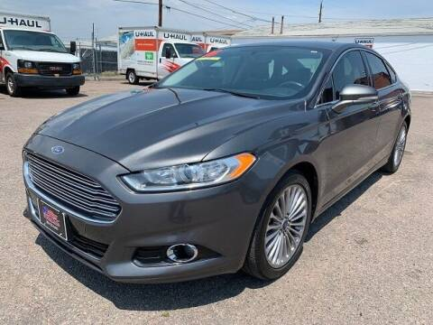 2016 Ford Fusion for sale at Nations Auto Inc. in Denver CO