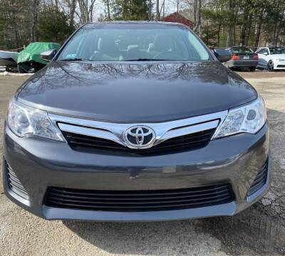 2012 Toyota Camry for sale at Gaybrook Garage in Essex MA