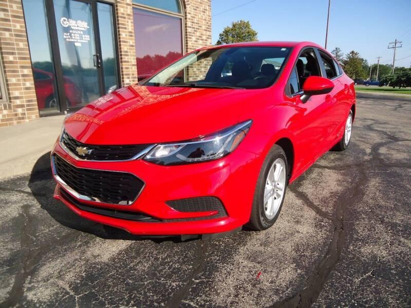 2017 Chevrolet Cruze for sale at VON GLAHN AUTO SALES in Platteville WI
