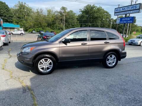 2011 Honda CR-V for sale at M G Motors in Johnston RI