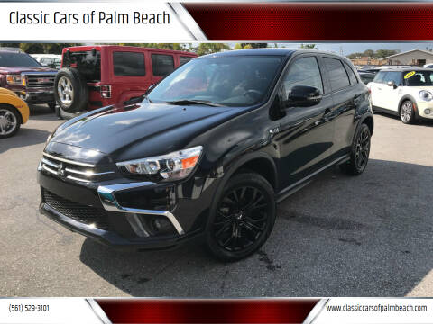 2018 Mitsubishi Outlander Sport for sale at Classic Cars of Palm Beach in Jupiter FL