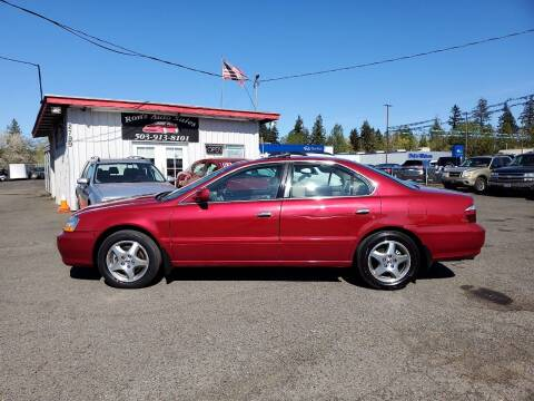 2002 Acura TL for sale at Ron's Auto Sales in Hillsboro OR