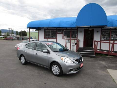 2013 Nissan Versa for sale at Jim's Cars by Priced-Rite Auto Sales in Missoula MT