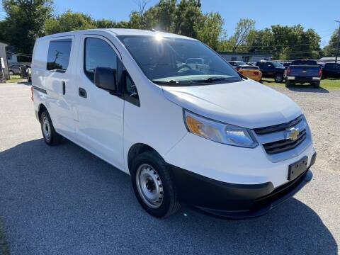 2016 Chevrolet City Express Cargo for sale at 2EZ Auto Sales in Indianapolis IN