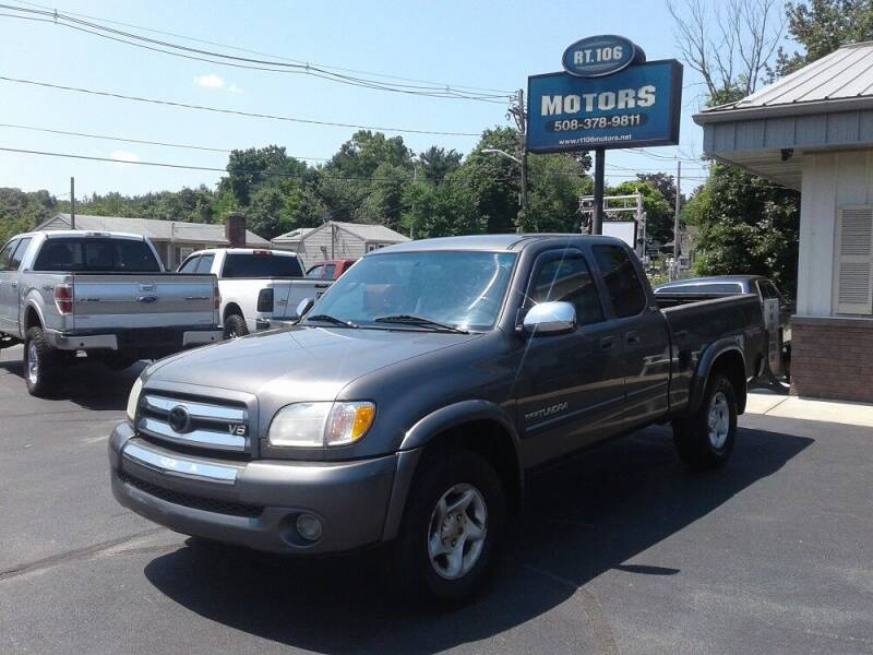 2004 Toyota Tundra for sale at Route 106 Motors in East Bridgewater MA