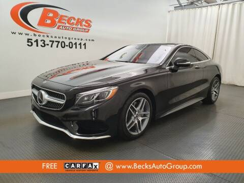 2017 Mercedes-Benz S-Class for sale at Becks Auto Group in Mason OH
