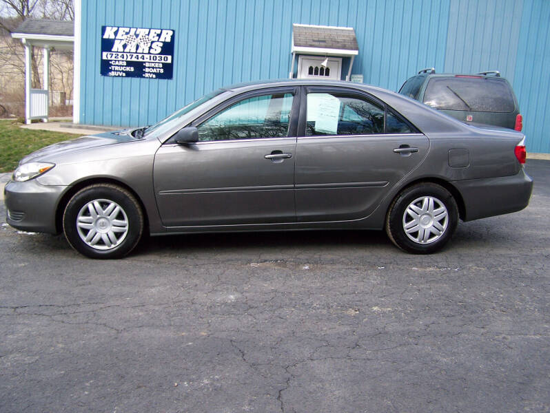 2005 Toyota Camry for sale at Keiter Kars in Trafford PA