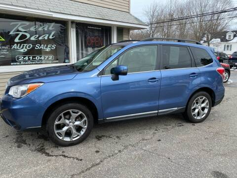 2016 Subaru Forester for sale at Real Deal Auto Sales in Auburn ME