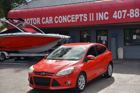 2012 Ford Focus for sale at Motor Car Concepts II - Apopka Location in Apopka FL