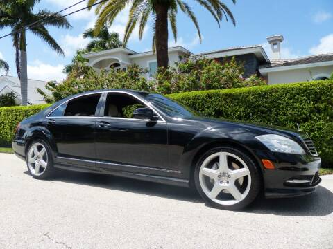 2013 Mercedes-Benz S-Class for sale at Lifetime Automotive Group in Pompano Beach FL