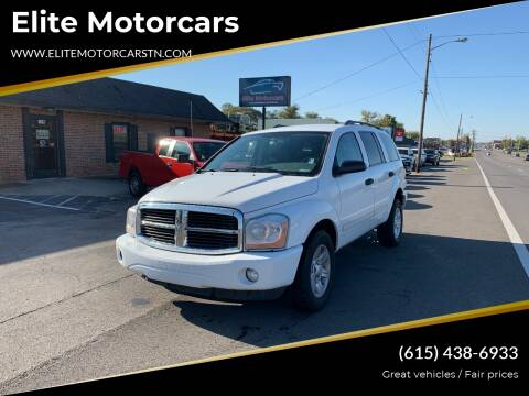 2004 Dodge Durango for sale at Elite Motorcars in Smyrna TN