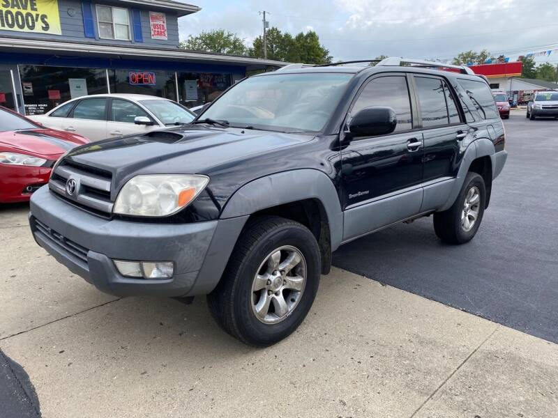 2003 Toyota 4Runner for sale at Wise Investments Auto Sales in Sellersburg IN
