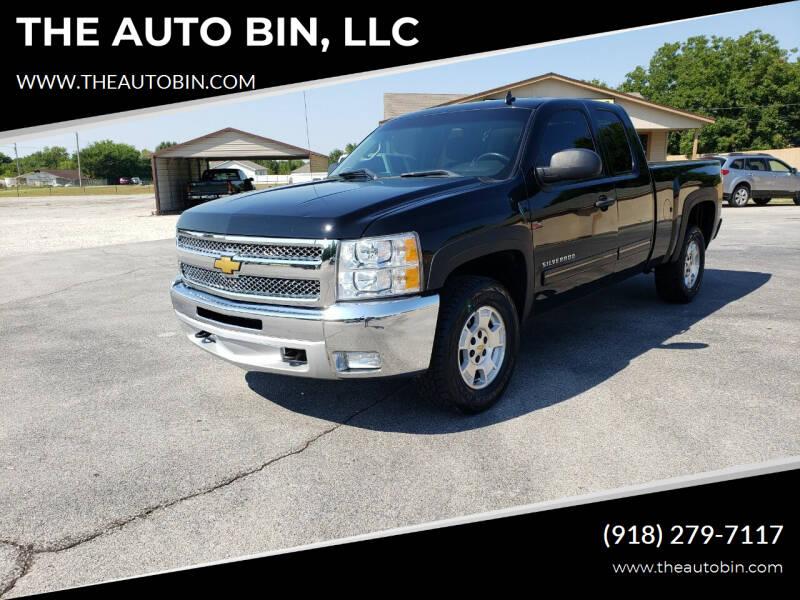 2012 Chevrolet Silverado 1500 for sale at THE AUTO BIN, LLC in Broken Arrow OK