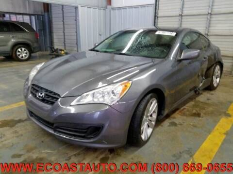 2012 Hyundai Genesis Coupe for sale at East Coast Auto Source Inc. in Bedford VA