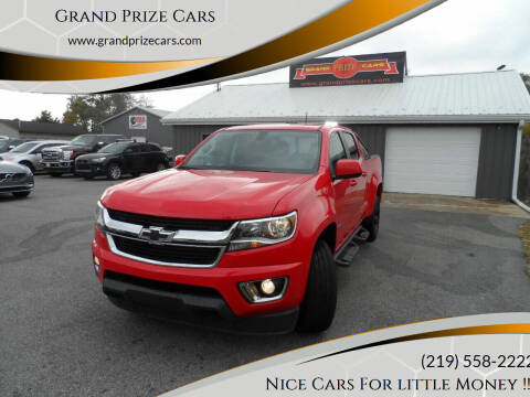 2016 Chevrolet Colorado for sale at Grand Prize Cars in Cedar Lake IN