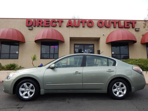 2008 Nissan Altima Hybrid for sale at Direct Auto Outlet LLC in Fair Oaks CA