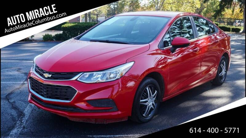 2017 Chevrolet Cruze for sale at Auto Miracle in Columbus OH