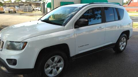 2015 Jeep Compass for sale at Haigler Motors Inc in Tyler TX