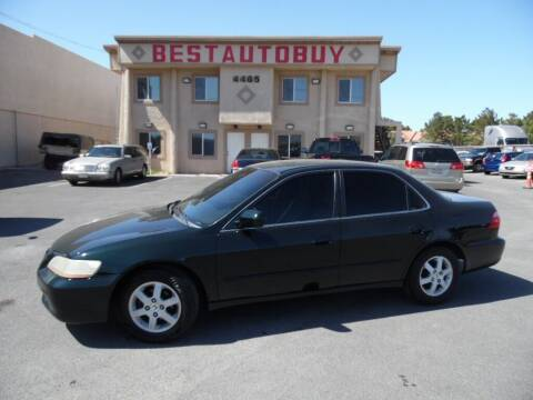2000 Honda Accord for sale at Best Auto Buy in Las Vegas NV