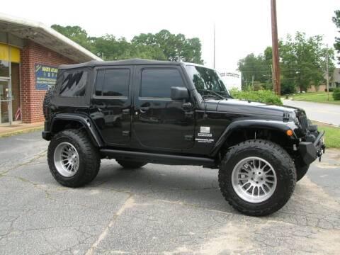 2016 Jeep Wrangler Unlimited for sale at South Atlanta Motorsports in Mcdonough GA