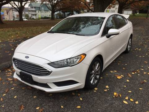 2017 Ford Fusion for sale at UNITED AUTO SALES & SERVICE  INC in Waterbury CT