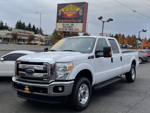 2013 Ford F-250 Super Duty for sale at West Coast Auto Works in Edmonds WA