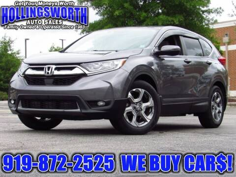2018 Honda CR-V for sale at Hollingsworth Auto Sales in Raleigh NC