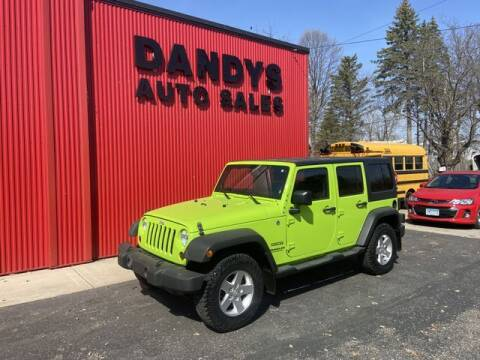 2013 Jeep Wrangler Unlimited for sale at Dandy's Auto Sales in Forest Lake MN