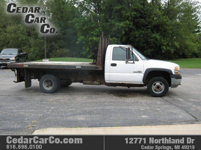 2002 GMC Sierra 3500 for sale at Cedar Car Co in Cedar Springs MI