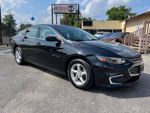 2017 Chevrolet Malibu for sale at Auto A to Z / General McMullen in San Antonio TX