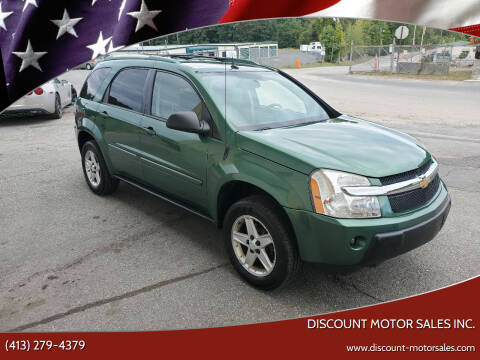 2005 Chevrolet Equinox for sale at Discount Motor Sales inc. in Ludlow MA