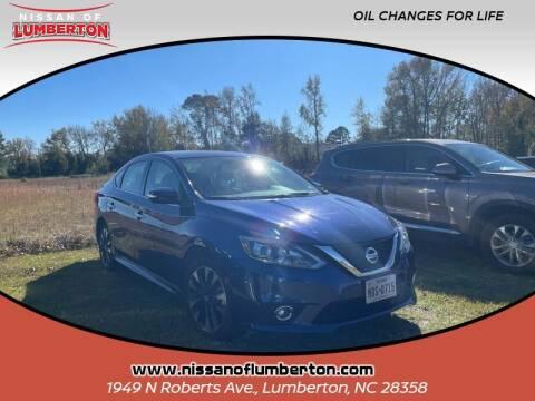 2019 Nissan Sentra for sale at Nissan of Lumberton in Lumberton NC
