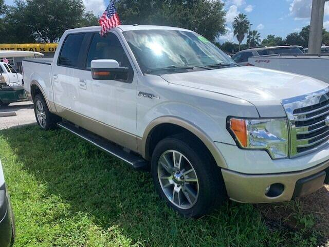 2014 Ford F-150 for sale at DAN'S DEALS ON WHEELS AUTO SALES, INC. in Davie FL