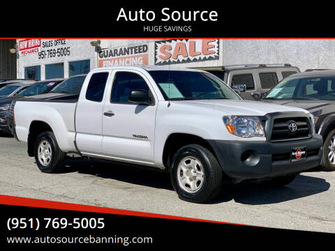 2007 Toyota Tacoma for sale at Auto Source in Banning CA