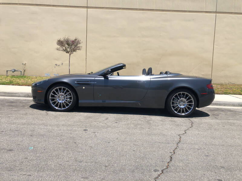 2008 Aston Martin DB9 for sale at HIGH-LINE MOTOR SPORTS in Brea CA