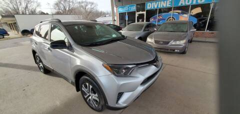 2017 Toyota RAV4 for sale at Divine Auto Sales LLC in Omaha NE