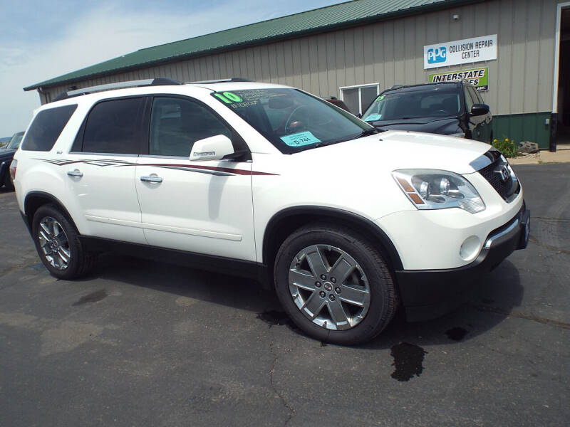 2010 GMC Acadia for sale at G & K Supreme in Canton SD