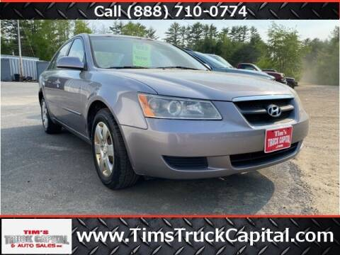 2006 Hyundai Sonata for sale at TTC AUTO OUTLET/TIM'S TRUCK CAPITAL & AUTO SALES INC ANNEX in Epsom NH
