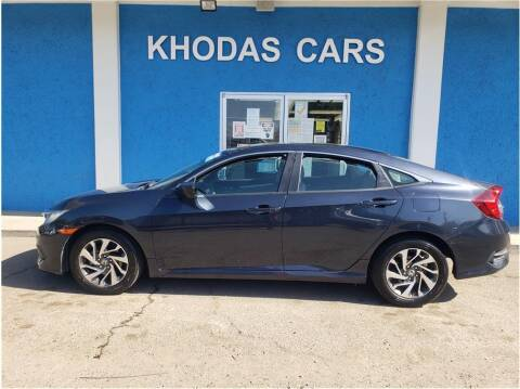2016 Honda Civic for sale at Khodas Cars in Gilroy CA