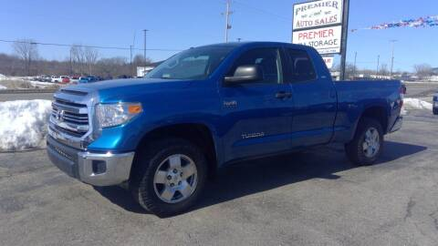 2016 Toyota Tundra for sale at Premier Auto Sales Inc. in Big Rapids MI