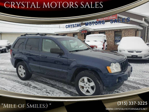 2006 Jeep Grand Cherokee for sale at CRYSTAL MOTORS SALES in Rome NY
