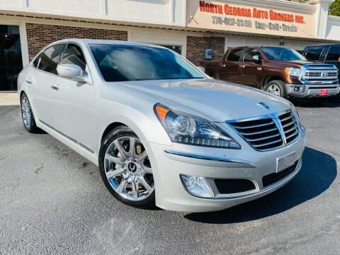 2013 Hyundai Equus for sale at North Georgia Auto Brokers in Snellville GA