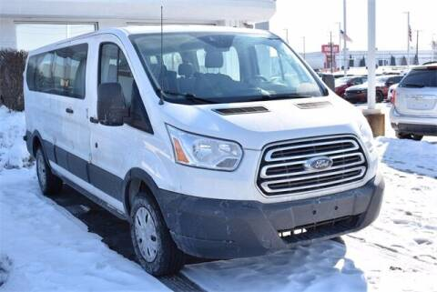 2017 Ford Transit Passenger for sale at BOB ROHRMAN FORT WAYNE TOYOTA in Fort Wayne IN