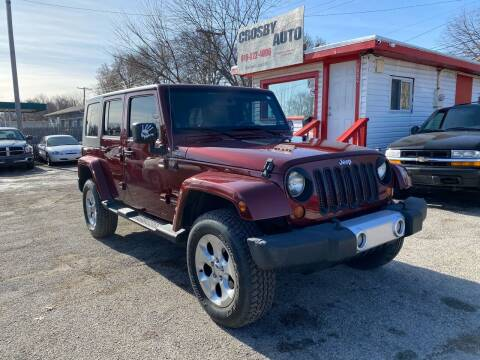 2008 Jeep Wrangler Unlimited for sale at Crosby Auto LLC in Kansas City MO