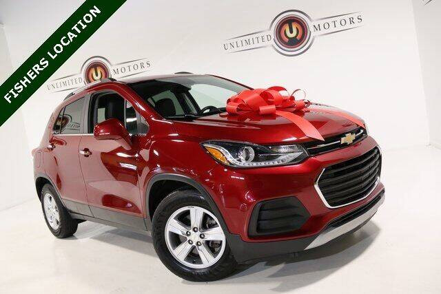 2018 Chevrolet Trax for sale at Unlimited Motors in Fishers IN
