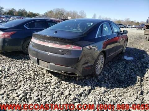 2017 Lincoln MKZ for sale at East Coast Auto Source Inc. in Bedford VA